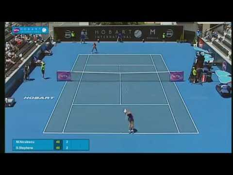 Monica Niculescu v Sloane Stephens - Full-match replay (1R) - Hobart International 2015