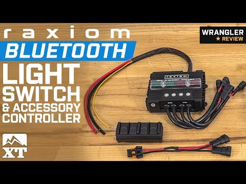 Jeep Wrangler Raxiom Bluetooth Switch & Accessory Controller (1987-2018 YJ, TJ, JK & JL) Review