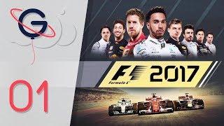F1 2017 : MODE CARRIÈRE FR #1 - Les débuts !