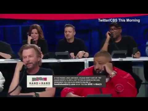 Stars answer phones in telethon for Hand in Hand Hurricane Relief