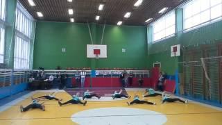 Спортивный танец 6А класса МОУ лицея 42 Вперёд мальчишки и девчонки