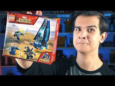 LEGO Война Бесконечности - БОРОДАТЫЙ КЭП И ВДОВА (76101)