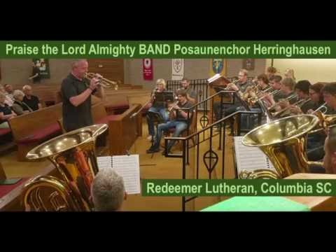 Praise the Lord Almighty BAND Posaunenchor Herringhausen