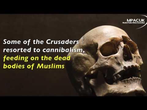 Crusaders Eat Dead Muslims in Ma'arrat - 12th December 1098