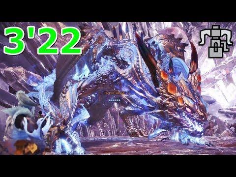 Arch-Tempered Xeno'jiiva Heavy Bowgun Solo 3:22【Monster Hunter World】