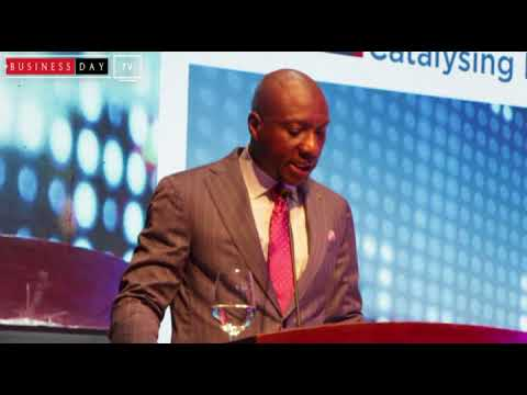 Oscar Onyema gives keynote address at the Capital Market and Investors Forum 2018