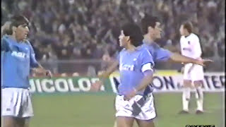 Coppa Uefa: Napoli - Bordeaux (0-0) - 07/12/1988