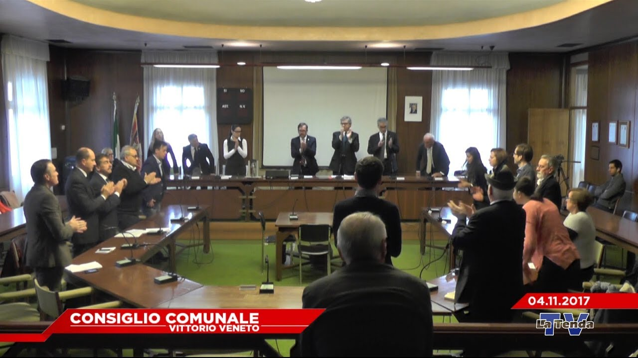 CONSIGLIO COMUNALE VITTORIO VENETO - Seduta del 04.11.2017