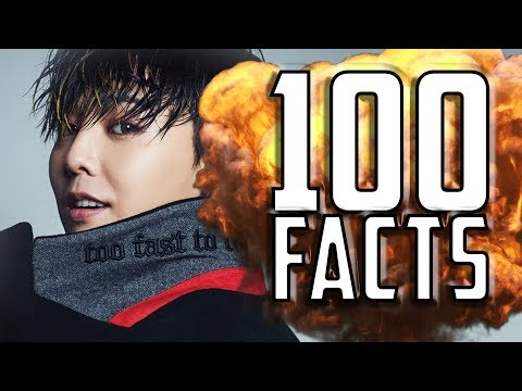 100 Things You Probably Never Knew About G Dragon