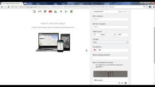 Gmail Hesabı Açma, Gmail e üye olma 2016