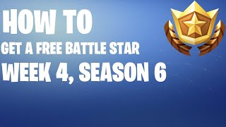 How to get a FREE Banner Icon in Fortnite #4 (Season 6)