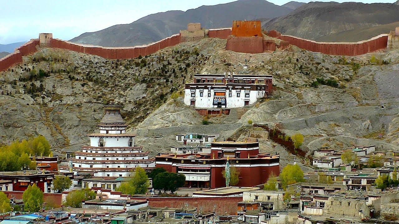 Pelkor Chode Monastery, Gyantse, Tibet, China in HD