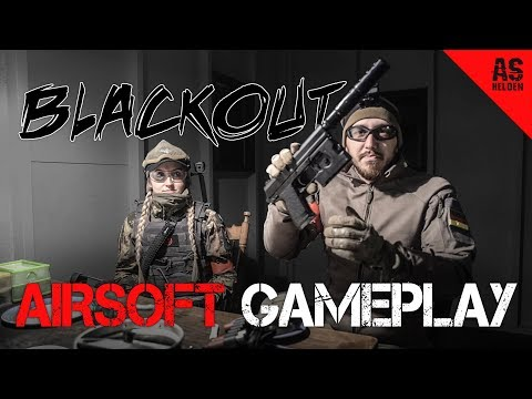 Blackout Airsoft JUNGLE/CQB Gameplay [deutsch]