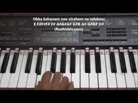 Ennenno Janmala Bandham - Piano Tutorials | 7013658813 - PDF NOTES/BOOK - WHATS APP US