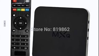 ТВ приставка MXQ Android TV Box обзор