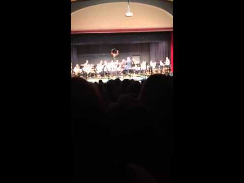 Freedom area middle school band concert 7-8 grade band