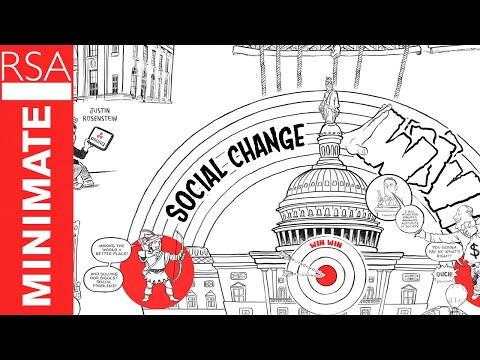 "An Animated Look at the Charade of the Global Elites: Claiming They Want to ""Change the World,"" They End Up Preserving the Unjust Status Quo"