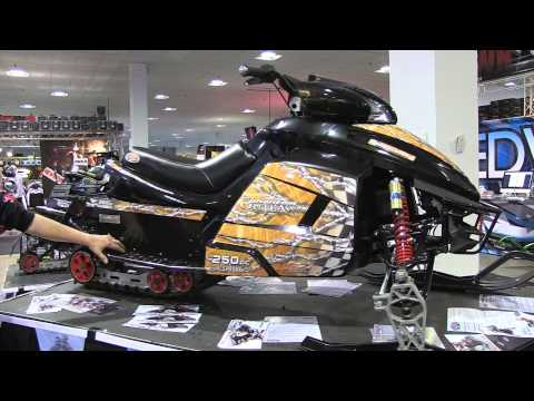 Phantom Snowmobile explained!  PowerModz!