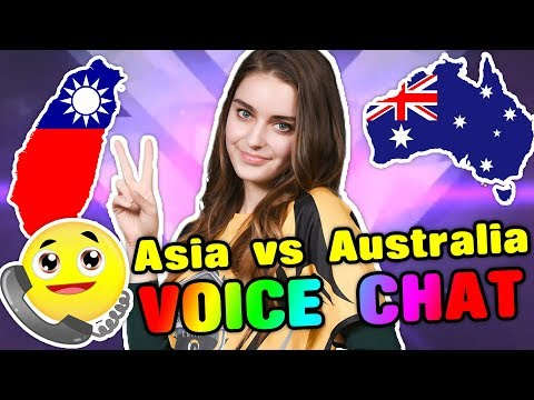 ASIA VS. AUSTRALIA VOICE CHAT [Overwatch]