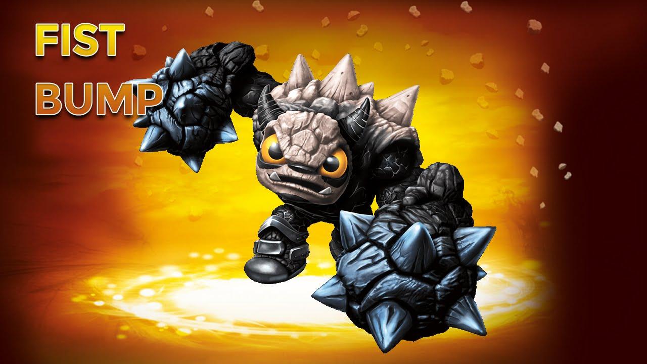 Skylanders Trap Team - Fist Bump - Rowdy Richter Path ...