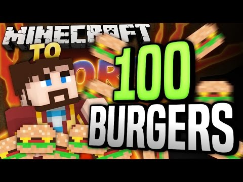 #Minecraft Mods - To The Core #63 - 100 BURGERS