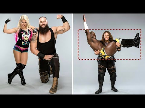 Amazing Poses of WWE Mixed Match Challenge Teams