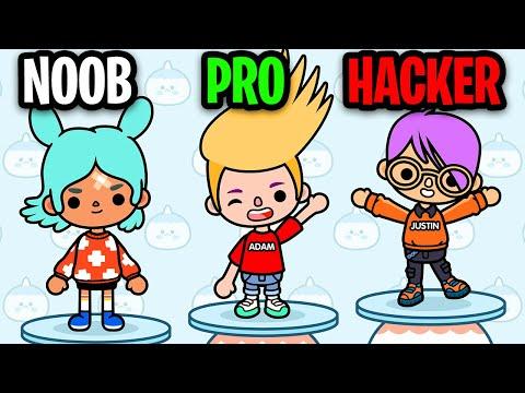 HOW LANKYBOX MET!? NOOB vs PRO vs HACKER In TOCA LIFE WORLD!