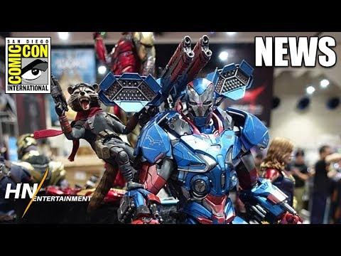 Great New Look At Upgraded Iron Patriot Suit & Avengers: Endgame Characters