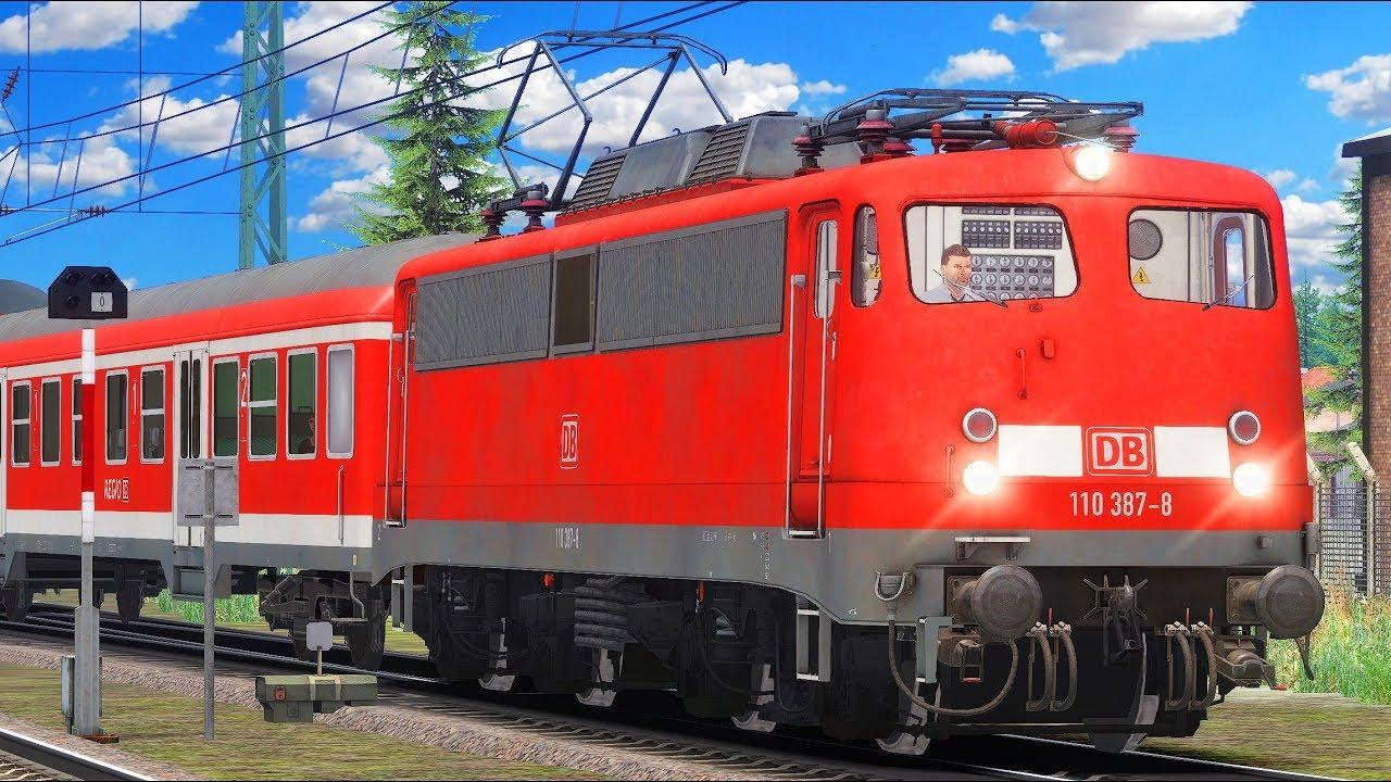 MUTTIS BÜGELFALTE: BR 110 | Regionalzug Mittenwaldbahn | TRAIN SIMULATOR 2020 | Karwendelbahn