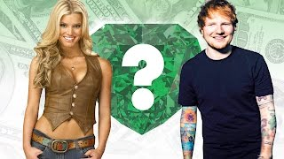 WHO'S RICHER? - Jessica Simpson or Ed Sheeran? - Net Worth Revealed!