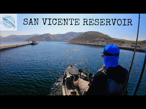 San Diego Kayak Fishing - San Vicente Reservoir
