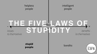 Gambar cover 294 The Five Laws Of Stupidity