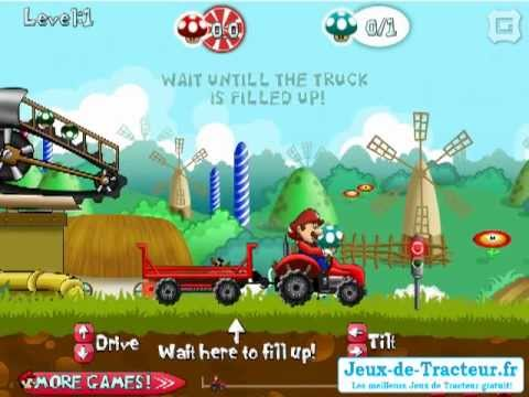 Jeu de tracteur mario champignons gratuit youtube - Jeu de tracteur agricole gratuit ...