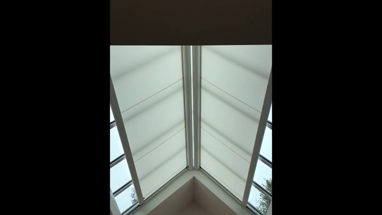 Two Electric Blinds For Roof Lanterns Skylights