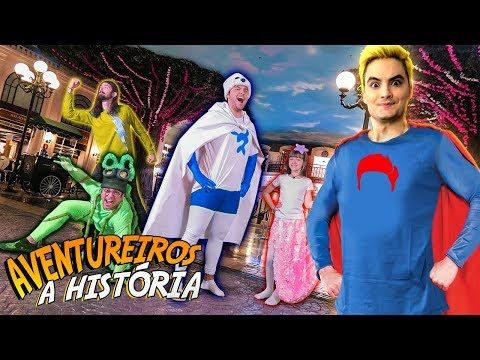 A HISTÓRIA DOS AVENTUREIROS DO LUCCAS NETO