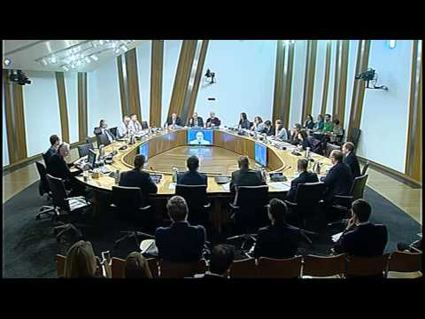 Rural Affairs, Climate Change and Environment Committee - Scottish Parliament: 5th February 2015