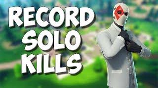 Record SOLO kills - Fortnite Romania