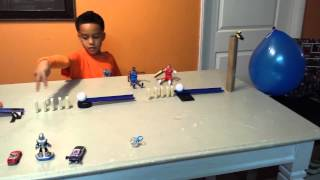 Rube Goldberg Machine Pop a Balloon
