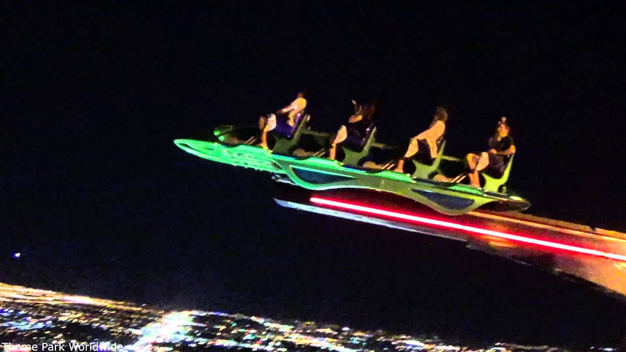 X Scream Off Ride - Stratosphere Tower Las Vegas - YouTube