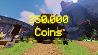 how 10 noobs spent 250,000 coins each in hypixel skyblock