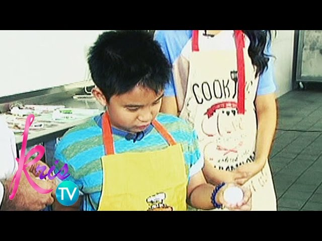 Kris TV: What Bimby learned from school