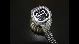 G Shock GX-56 jelly transparent custom watch unboxing by TheDoktor210884