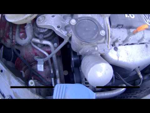 Неисправная помпа, двигатель Volkswagen Polo Sedan CFNA 1.6 ч.1