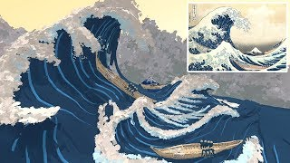 """Experience """"The Great Wave"""" in Virtual Reality! 