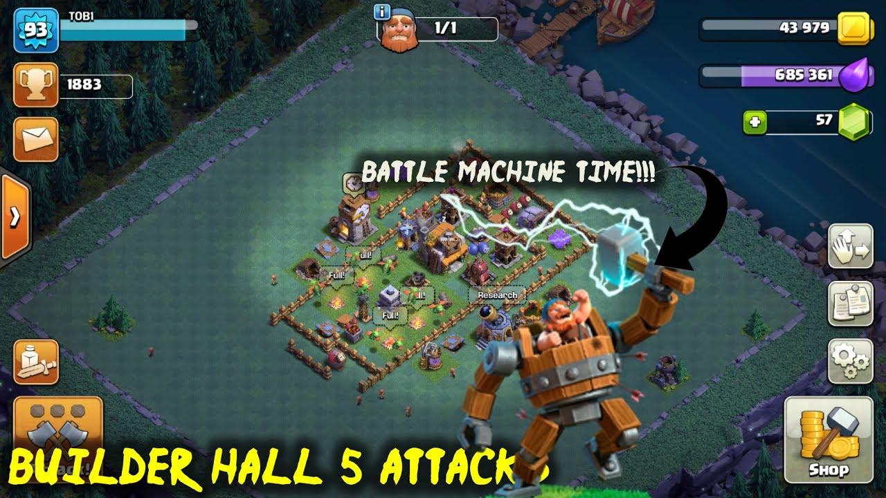 battle machine coc