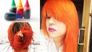 DYEING MY HAIR WITH FOOD DYE!  Does it really work?