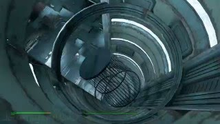 Fallout 4 - Mass Fusion Building using the big elevator without id card - WTF sorcery is this - UHD