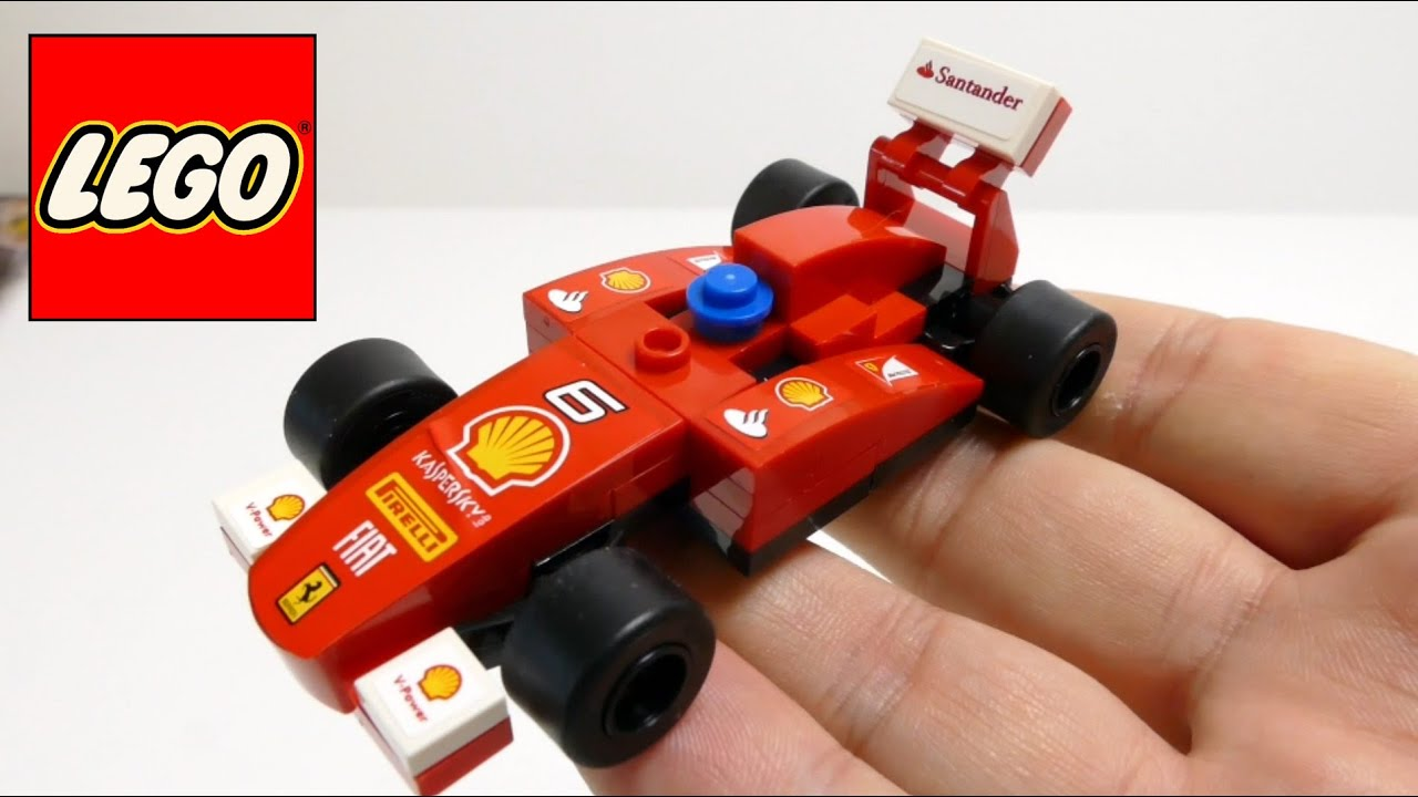 lego model shell f1 ferrari race car youtube. Black Bedroom Furniture Sets. Home Design Ideas