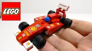 LEGO Model Shell F1 Ferrari Race Car