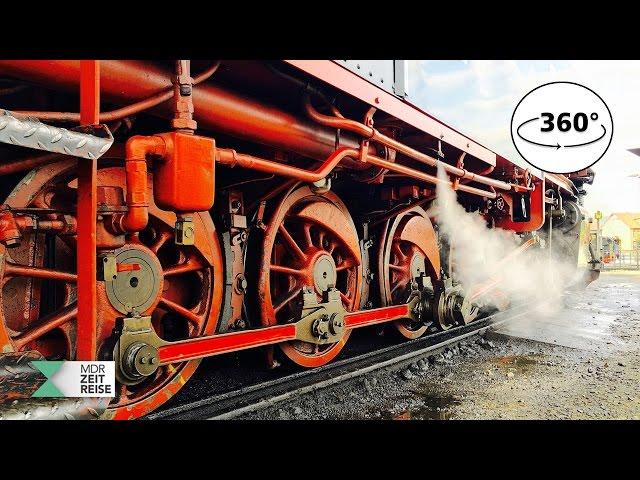 Die Harzer Schmalspurbahn | 360 VR Video | MDR ZEITREISE